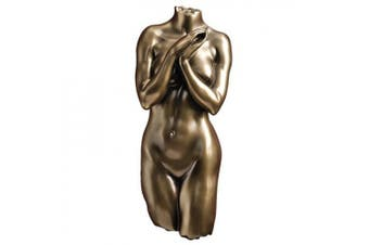 Anatomical Decipher Nude Torso Female Wall Sculpture