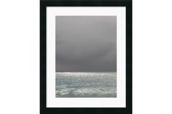Bleu 6 Framed Art Print by Brian Leighton