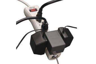 Tripp Lite 7 Outlet Surge Protector Power Strip, 2.1m, Right-Angle Plug, Fax/Modem Protection, RJ11, 75,000 Insurance (SUPER7TEL)