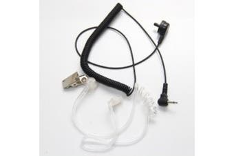 2.5mm Listen/Receive Only Covert Acoustic Tube Earpiece Headset For Two Way Radio Speaker Mic Microphone RLN4941