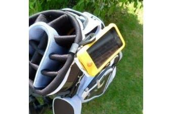 Buybits Golf Bag Clip Phone Mount for Mobiles & Smartphones