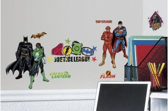 RoomMates RMK2138SCS Justice League Peel and Stick Wall Decals