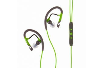 (Green / Gray) - Klipsch Sport A5i In-Ear Headphone - Green/Gray