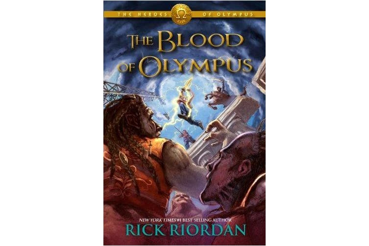 Heroes of Olympus, The, Book Five the Blood of Olympus (Heroes of Olympus)