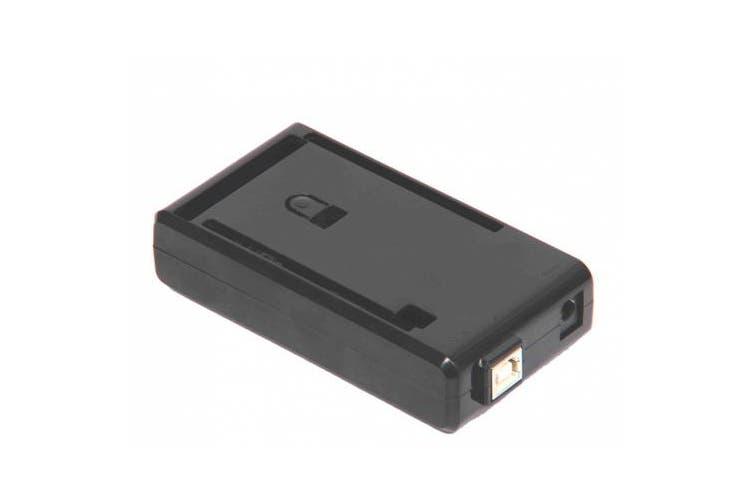 Arduino Mega Case Enclosure New Black Computer Box with Switch
