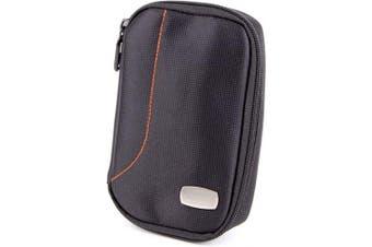 DURAGADGET s Black Durable Hard Drive Carry Case for Transcend StoreJet 25A3, Transcend StoreJet 25H3P, 25A2, 25H2P & Transcend StoreJet 25M2, with Additional Internal Storage Pocket