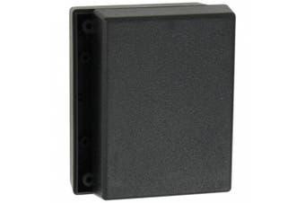 Serpac 131 ABS Plastic Enclosure, 11cm Length x 8.3cm Width x 3.8cm Height, Black