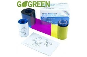 Datacard Colour Ribbon Kit For SP35 and SP55 Printers - 500 Image - Ribbon Cleaning Card Cleaning Sleeve