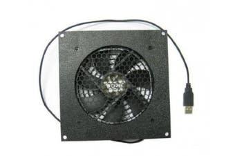 Coolerguys PRO-Metal Series Single 120mm USB powered Cooling Kit Cabcool1201-M-USB