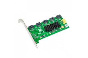 IO Crest Internal 5 Port SATA II Port Multiplier Non-RAID Version SI-PCI40074
