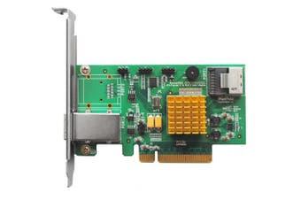 (1x Internal Mini-SAS Port / 1x External Mini-SAS Port) - HighPoint RocketRAID 2721 4-Port Internal / 4 Port External SAS 6Gb/s PCIe 2.0 x8 RAID HBA (SAS Tape / RAID Support)