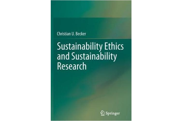 Sustainability Ethics and Sustainability Research