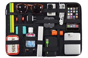 (xtra large, Black) - Cocoon CPG51BK GRID-IT! Organiser xLarge 28cm x 38cm Luggage Accessory (Black)