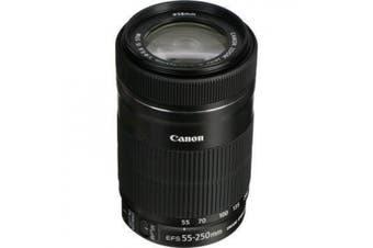 (Base) - Canon EF-S 55-250mm f/4.0-5.6 IS STM Lens - For Canon APS-C Cameras , Not for 6D/5D/1D/1DX STM AF