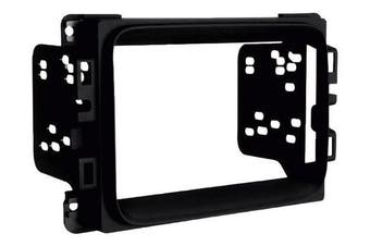 Metra - Installation Kit for Select 2013 and Later Dodge Ram 1500, 2500 and 3500 Vehicles - Matte Black