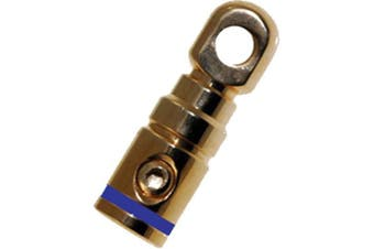 Absolute USA - GRT1001B Single Gold Power Ring Terminal Blue Band