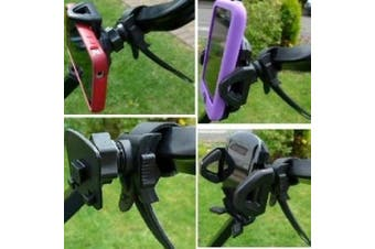 Locking Strap Golf Trolley Mobile Cell Phone Mount
