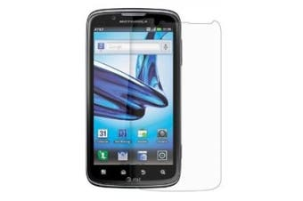 Amzer AMZ92630 Anti-Glare Screen Protector with Cleaning Cloth for Motorola ATRIX 2 MB865 - 1 Pack - Retail Packaging - Clear
