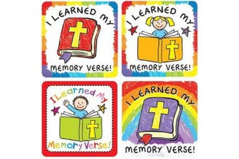 I Learned My Memory Verse Sticker Pack