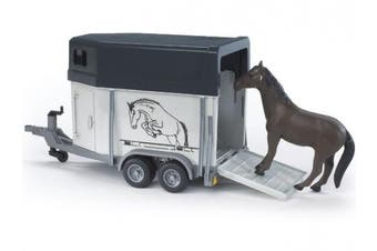 Horse Trailer with Horse
