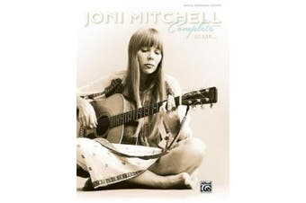 Joni Mitchell -- Complete So Far: Guitar Tab, Hardcover Book