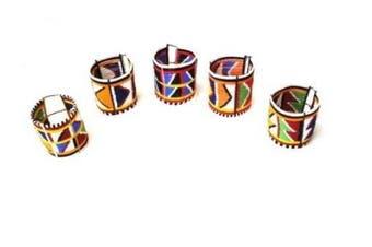 Katangi Handcrafts Traditional 30 line Maasai Beaded Bracelet