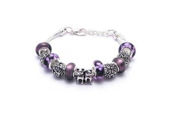 Cat Charm Bracelet Women's Pandora Style Gift Boxed