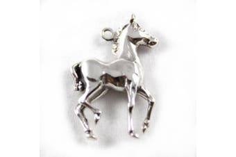 925 Sterling Silver Charm - Colt, Horse - FREE UK POSTAGE