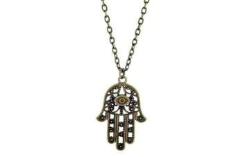 Hamsa Healing Hand Necklace