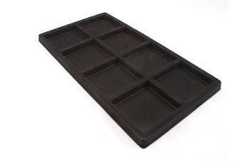 Black Velvet 8 Compartment Tray Insert (BD96-08) - full size