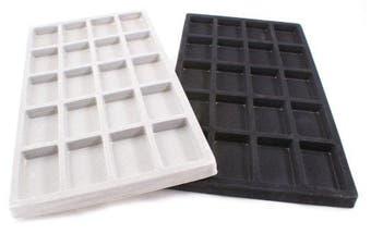 Velvet 20 Compartment Tray Insert (BD96-T2) - full size
