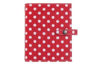 RED POLKA DOT - Little Book of Earrings - A Book for Keeping Your Earrings Safe!