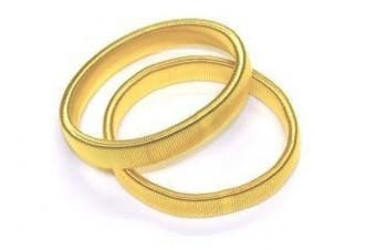 Elasticated Arm Bands - Gold