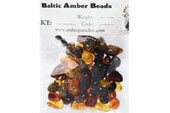 Multicolour Baltic Amber Beads Roundish, Loose, with holes, polished Weight: 10 gramme, Amber Size: 5mm-10mm, Amber Colours: Golden, Lemon, Butter, Cognac, Cherry. Beads are ready for jewellery making.