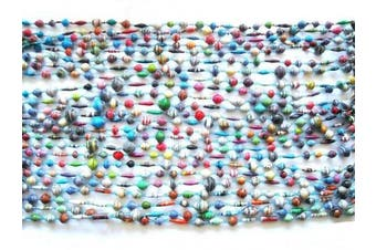 Katangi Handcrafts Recycled Paper Beads - Multi coloured C