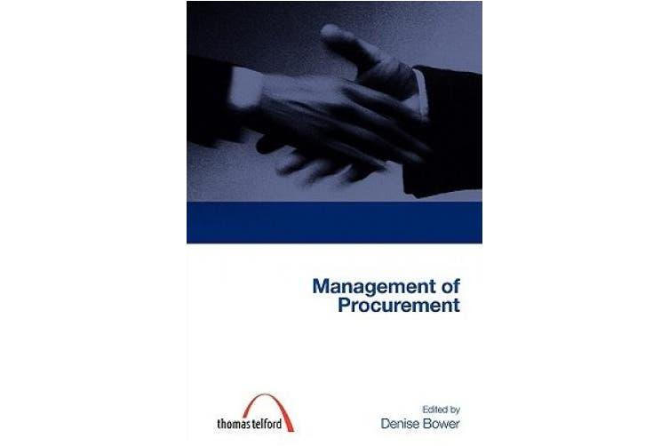 Management of Procurement