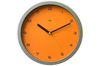 Bai 25cm Wall Clock, Gotham Tangerine