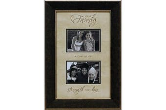 Artistic Reflections Our Family a Circle of Strength Photo Frame