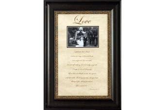 Artistic Reflections Love Is Patient Photo Frame