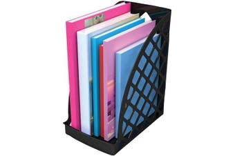 (Jumbo) - Deflecto Sustainable Office Jumbo Magazine File, 6-1/4 x 30cm x 25cm (34904)