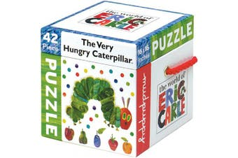 (42 Piece Puzzle) - The World of Eric Carle(tm) the Very Hungry Caterpillar(tm) Cube Puzzle (42 PC)
