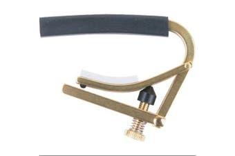 (Brass) - Shubb Original C-Series 12-String Guitar Capo Brass