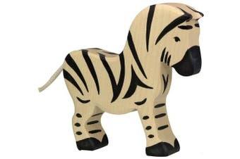 Holztiger Toys Zoo Wood Animal Zebra