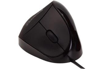 ergoguys em011-bk usb black comfi ergonomic mouse by ergoguys