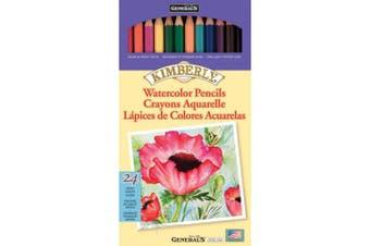 Kimberly Watercolour Pencils 24/Pkg