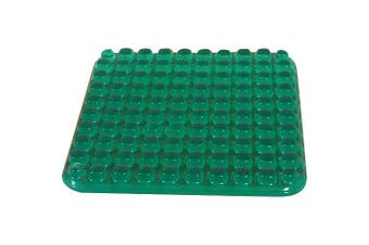 Abilitations Gel-E Seat, 25cm x 25cm , Green