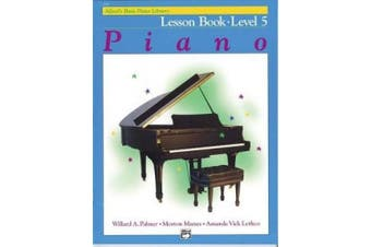 Alfred's Basic Piano Library Lesson Book Level 5 (Alfred's Basic Piano Library)
