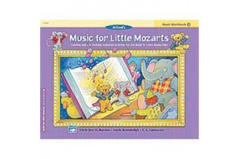 Music for Little Mozarts Music Workbook, Bk 4: Coloring and Ear Training Activities to Bring Out the Music in Every Young Child (Music for Little Mozarts)