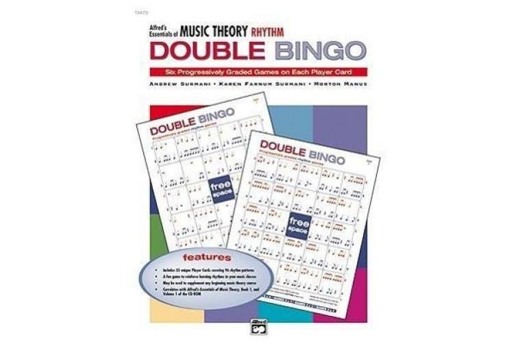 Alfred's Essentials of Music Theory: Rhythm Double Bingo (Essentials of Music Theory)