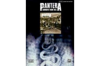 Pantera: Cowboys from Hell: Authentic Guitar Tab Edition